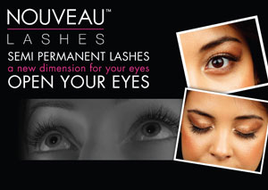 nouveau lashes advert